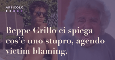 ciro beppe grillo video stupro
